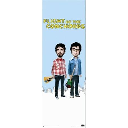 Flight of the Conchords - Door Poster Poster Print (Flight Of The Conchords Poster)