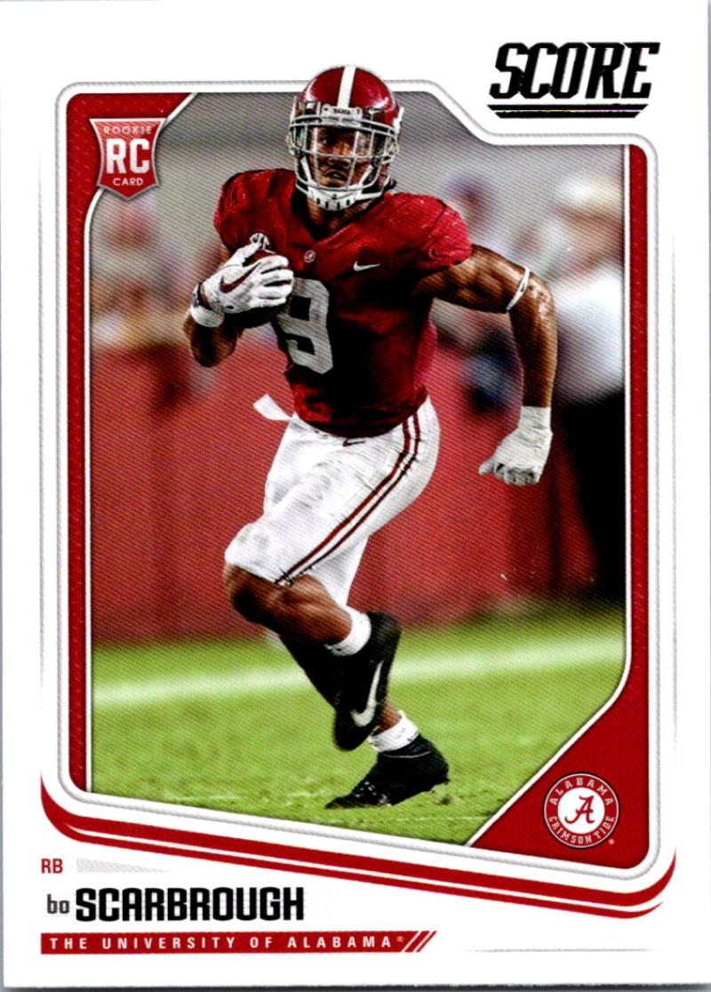 2018 Score #366 Bo Scarbrough Alabama Crimson Tide Football Card - Walmart.com