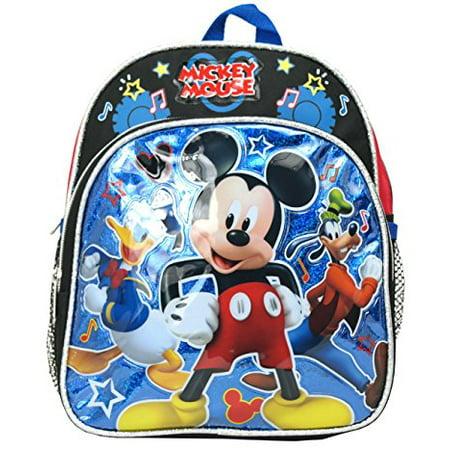 - Mini Backpack - Disney - Mickey Mouse w/Donald Goofy 10