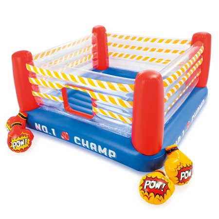 Intex Inflatable Jump-O-Lene 89 Inch Play Boxing Ring Bouncer For Kids Ages 5-7 (Play Bouncer)