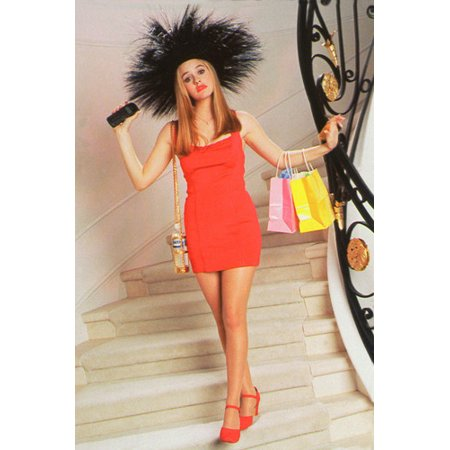 Alicia Silverstone as Cher Horowitz in Clueless 24x36 Poster (Cher Clueless)