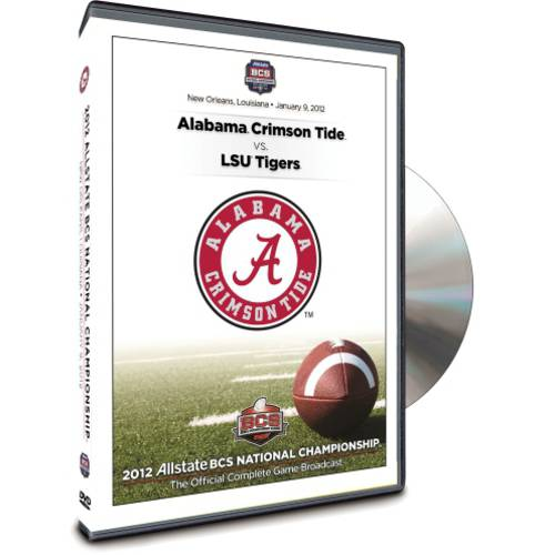 2012 Allstate BCS National Championship Game: Alabama Crimson Tide Vs. LSU Tigers