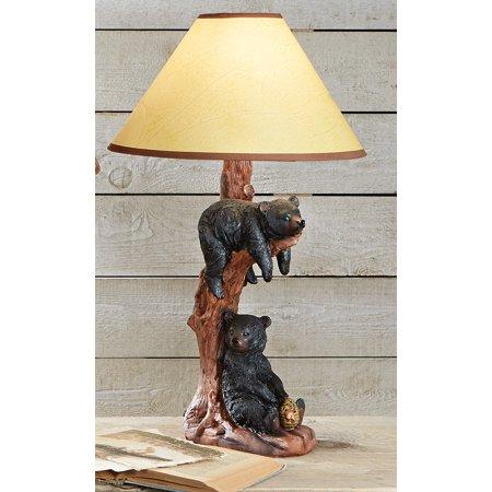Black Bear Hanging Table Lamp