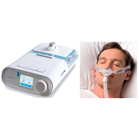 Bundle Deal: DreamStation Auto CPAP Machine (DSX500H11) and NuancePro Nasal Pillow Mask Fit-Pack (1105167) by Philips Respironics (No (Best Cpap Nasal Pillow)