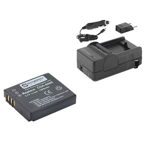 Ricoh GR DIGITAL IV Digital Camera Accessory Kit includes: SDCGAS005 Battery, SDM-161 Charger