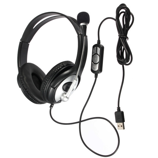 Noise Cancelling Surround Sound Usb Stereo Super Bass Headband