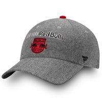 New York Red Bulls Fanatics Branded Women's Chambray Fundamental Adjustable Hat - Black - OSFA