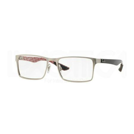 a0746fc81e Eyeglasses Ray-Ban Optical RX 8415 2538 MATTE GUNMETAL - Walmart.com