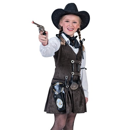 Funny Fashion Kids Western Rodeo Cowgirl Girls Halloween Costume