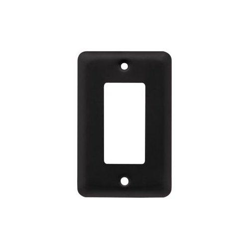 Liberty Hardware 64129 Stamped Round Series Single Decorator Wall Plate