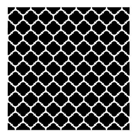 Colonial Mosaic Pattern Stencil - 8