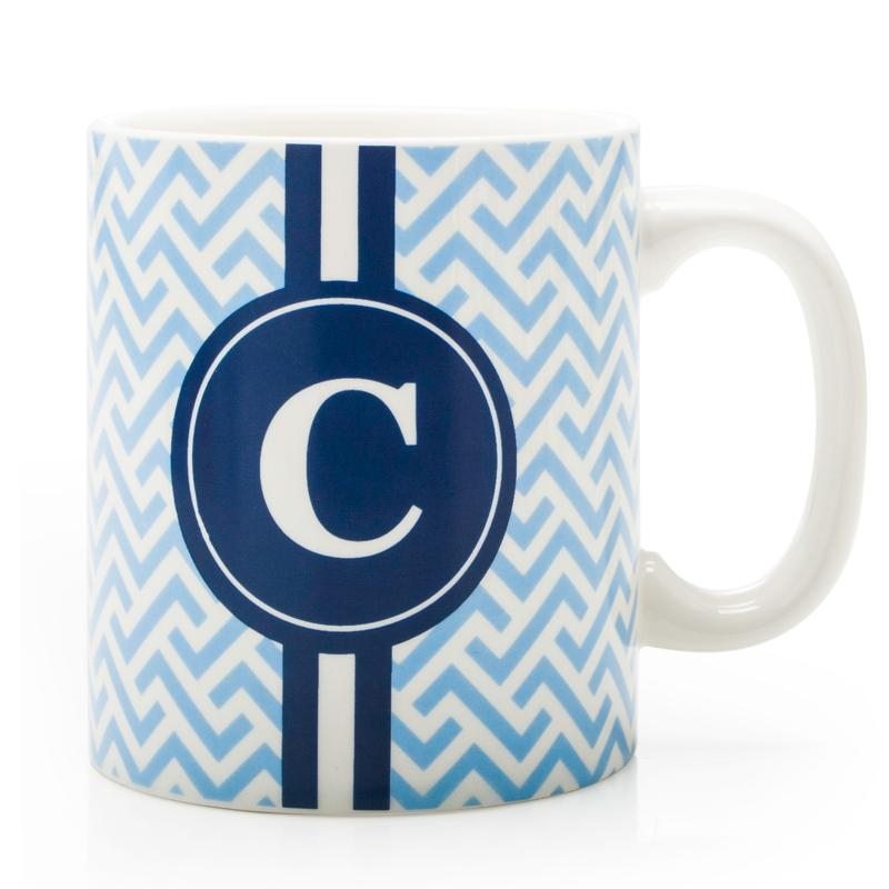 bia cordon bleu monogram coffee mug c blue