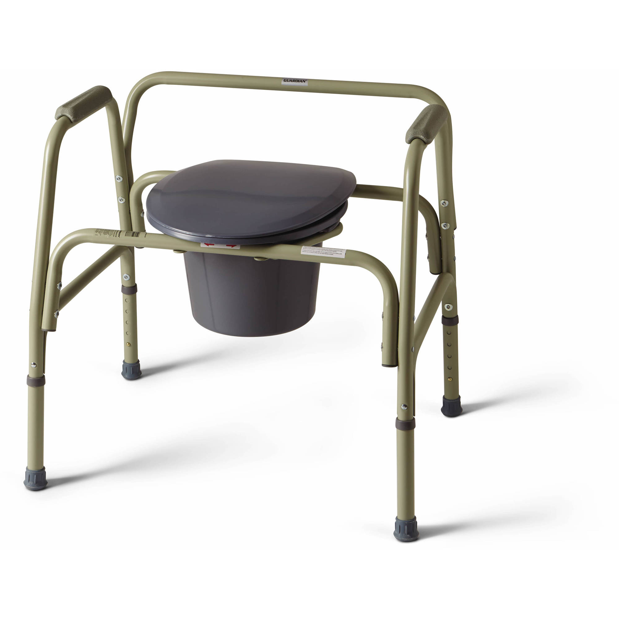 Medline Steel Extra-Wide Bariatric Commode