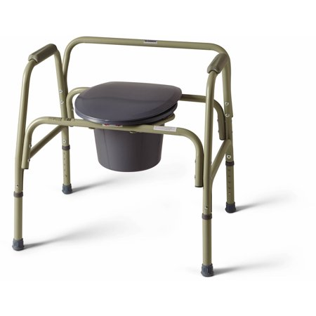 Bariatric Commode (Medline Steel Extra-Wide Bariatric Commode )