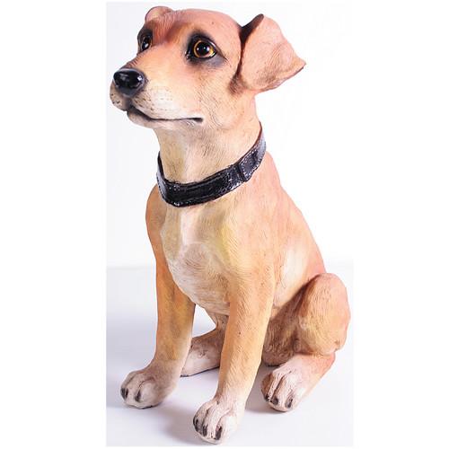 KelKay Happy Sitting Dog Statue by