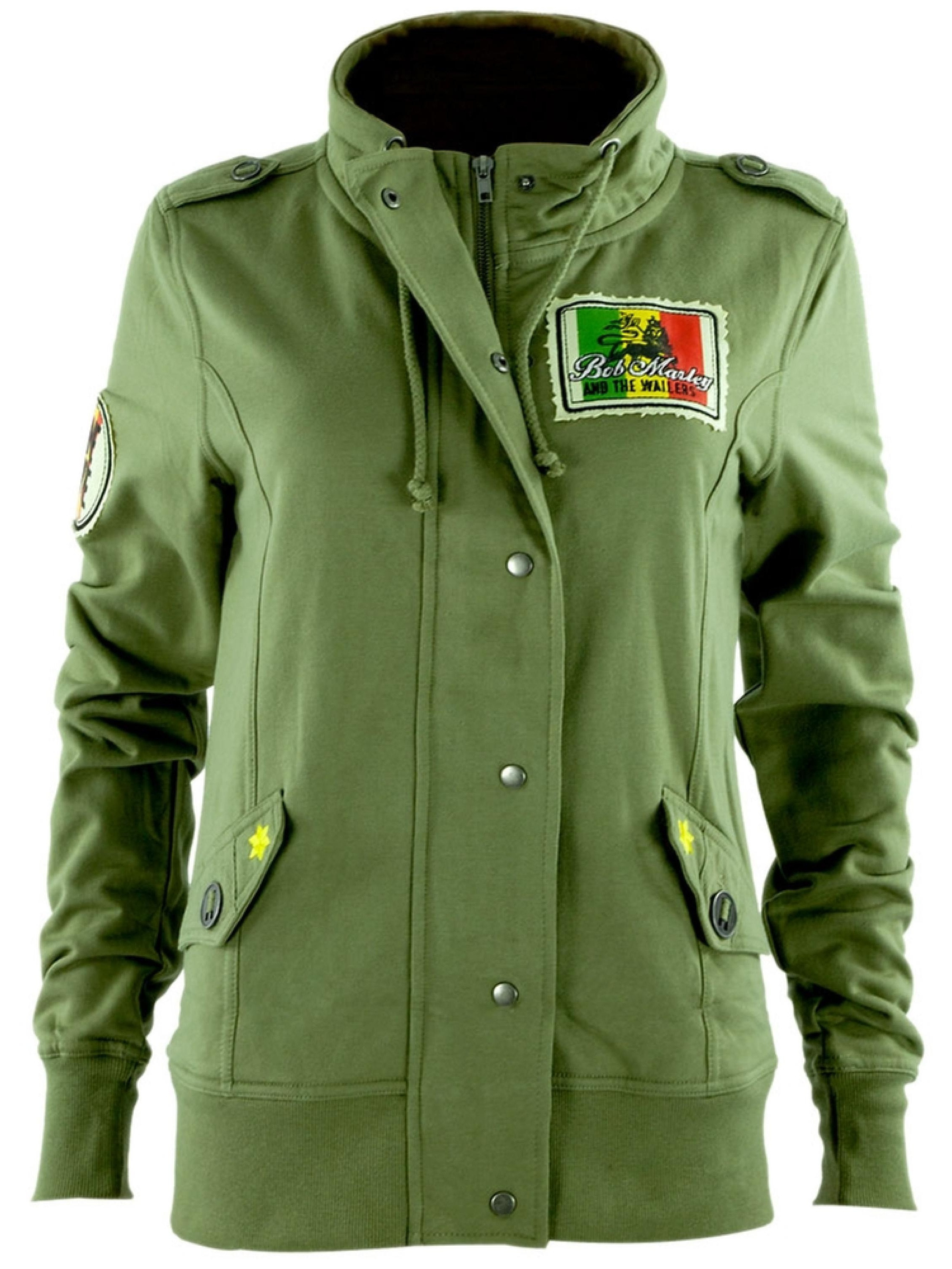 Bob Marley - Military Juniors Jacket