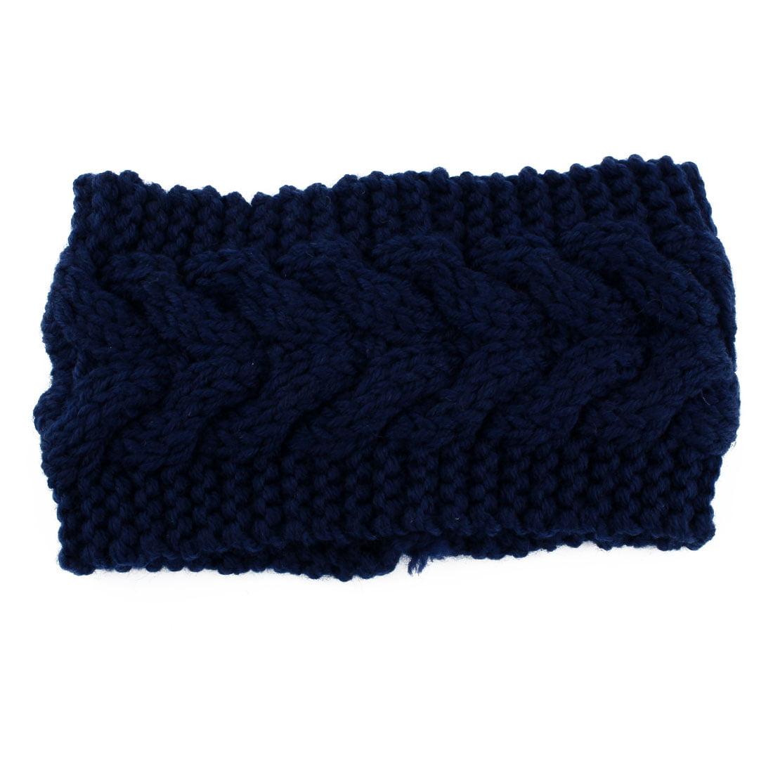 Twist Braided knitted Head Wrap Hair Band Sports Ski Headband