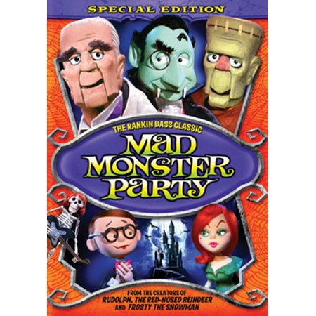 Mad Monster Party (DVD)](Party Movies)