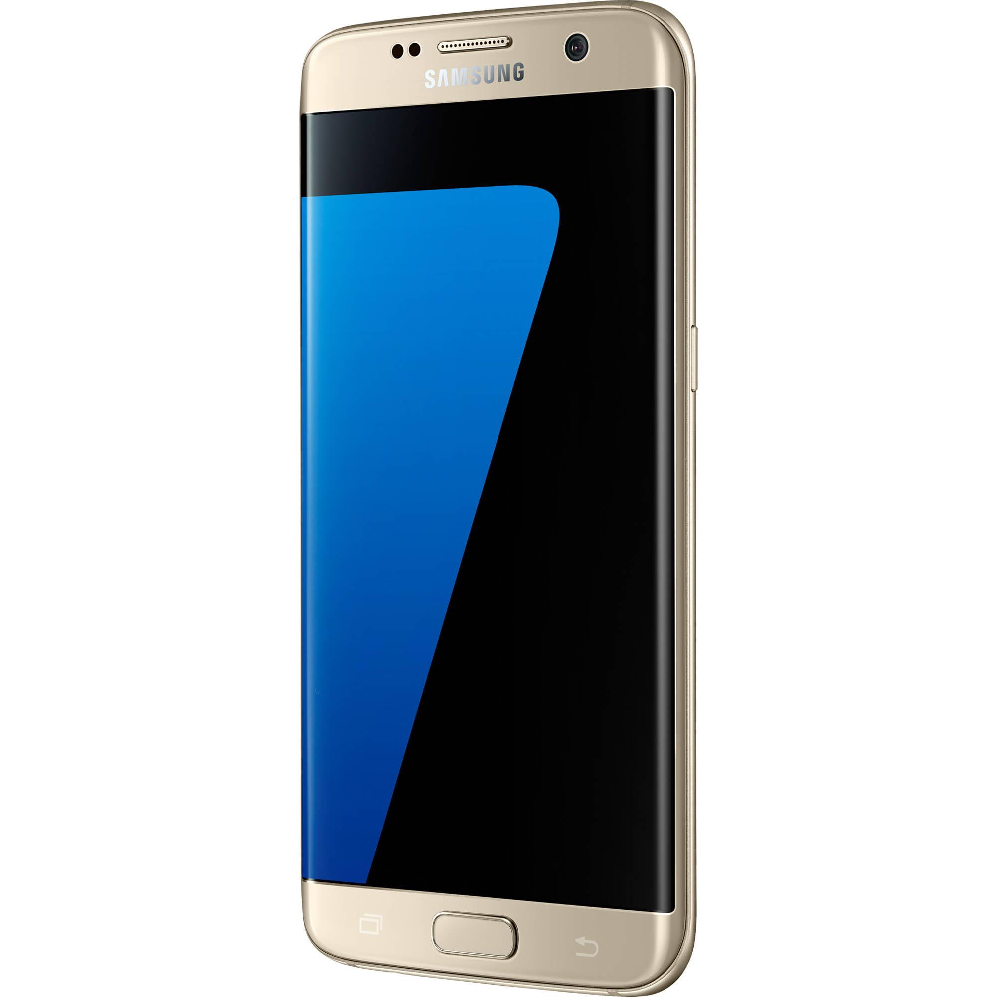 Samsung Galaxy S7 Edge 32gb Unlocked Smartphone Black 32 Gb Coral Blue