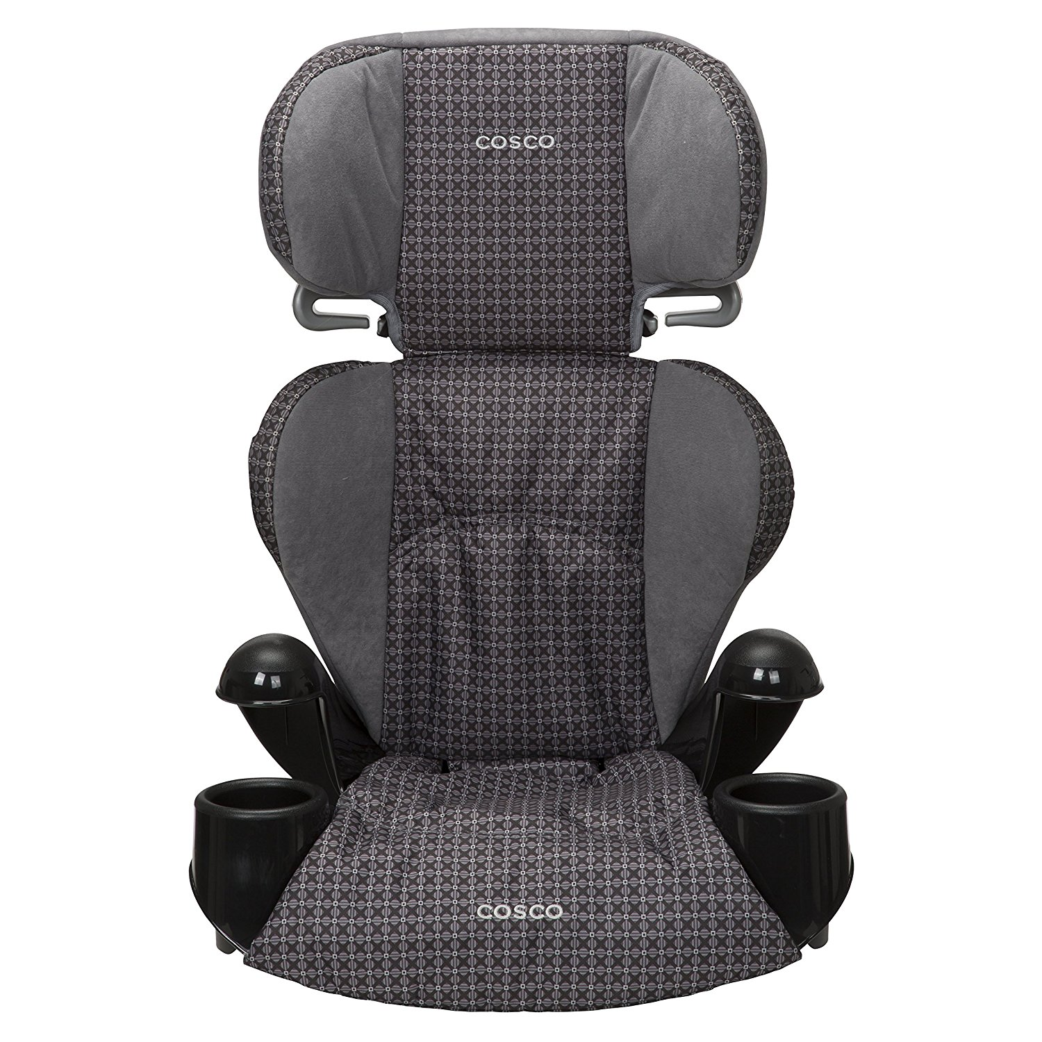 Pronto! Booster Car Seat for Children, Adjustable Headrest, Integrated Cup Holders, Emerson, COMFY BOOSTER SEAT – This belt-positioning booster seat can.., By Cosco Ship from US