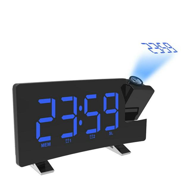 Digital Alarm Clock Projection Fm Radio, Digital Projection Alarm Clock Manual