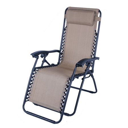trading outdoor folding and reclining zero gravity chair