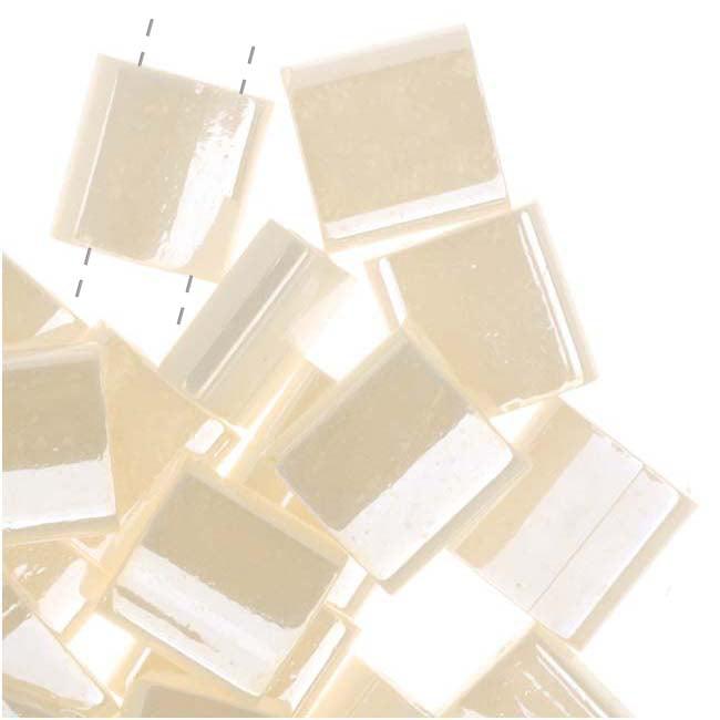 Miyuki Tila 2 Hole Square Beads Antiqued Ivory Pearl Ceylon