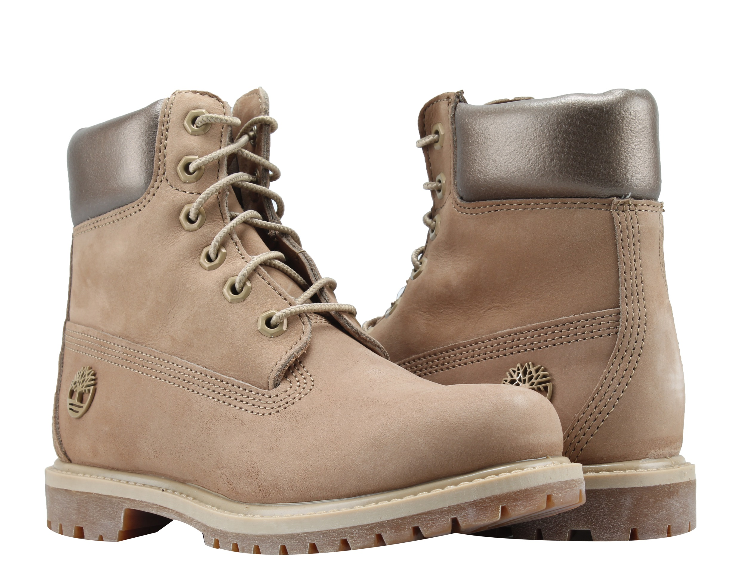 Timberland 6-Inch Premium Waterproof Natural Gold Women's Boots A1K3J by