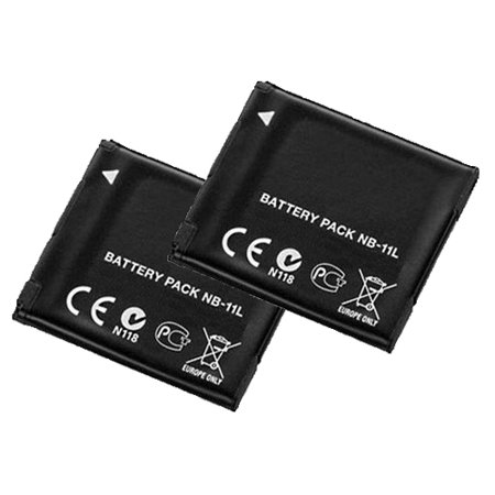 Battery for Canon NB-11L (2-Pack) Replacement (11l Battery Pack)