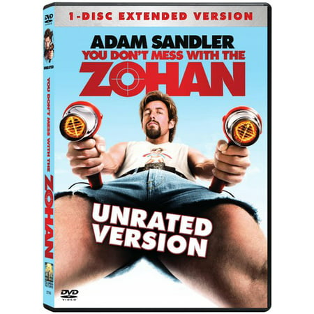 You Don't Mess With the Zohan (DVD) (Don T Mess With The Time Man)