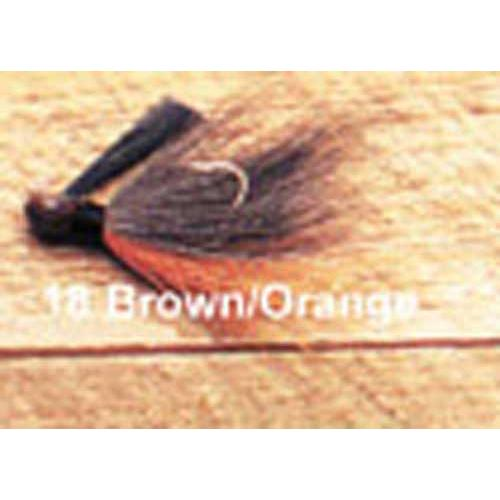 Click here to buy Arkie 1 8 Bucktail 6 cd Brown Orange.