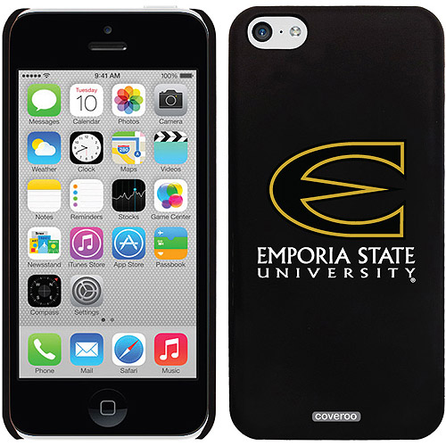 Emporia State Primary Mark Design on iPhone 5c Thinshield Snap-On Case by Coveroo