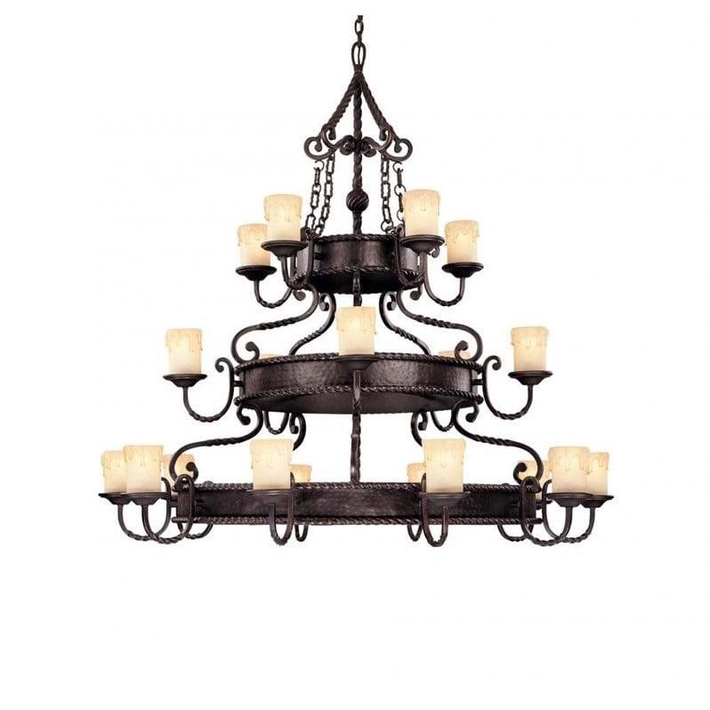 Savoy House San Gallo 20 Light Chandelier in Slate