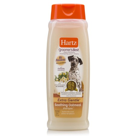 Hartz groomer's best soothing oatmeal dog shampoo, 18-oz (Best Smelling Puppy Shampoo)