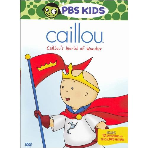 Caillou: Caillou's World Of Wonder (Full Frame)