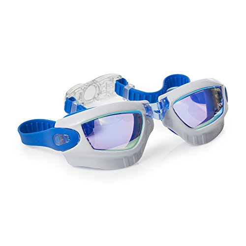 Galaxy Themed Swimming Goggles For Kids by Bling2O Anti Fog, No Leak, Non Slip and UV Protection B2D2 Royal Blue Colored... by Bling2O