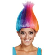 RAINBOW COLORED ADULT TROLL WI