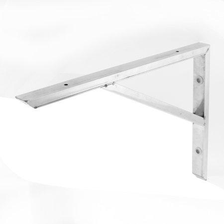Support angle acier inoxydable support étagère soutenir 14 pouces longue - image 1 de 3