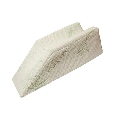 MonMed | Post Surgery Leg Elevation Pillow – Leg Rest Pillow Foam Wedge Pillow