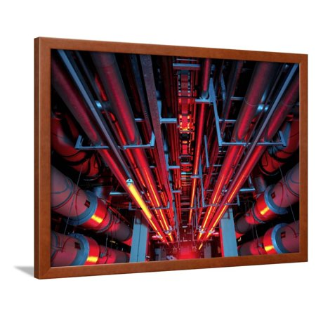 Air Conditioning Pipes Framed Print Wall Art By Tek Image Art Cool Air Conditioning