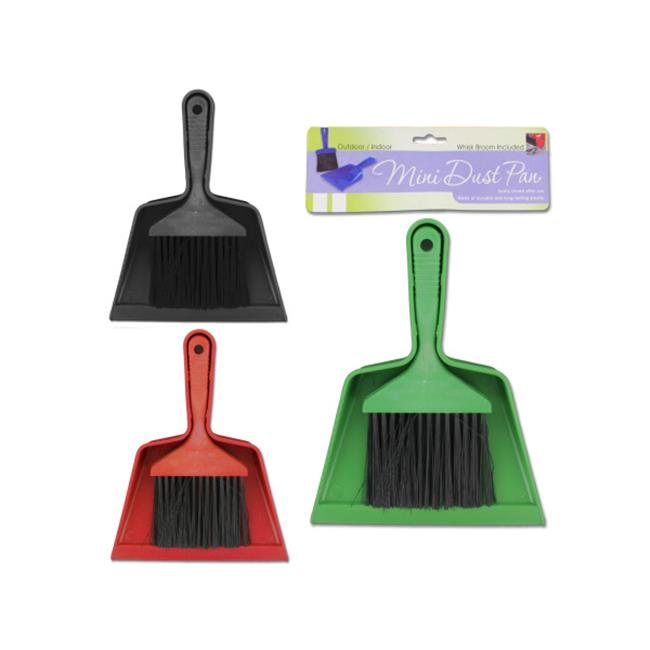Bulk Buys HS017-48 Mini Brush and Dust Pan Set
