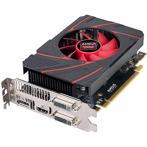CYBERPOWERPC CPVCR7260X AMD Radeon R7 260X 2GB GDDR5 PCI Express 3.0 Graphics Card