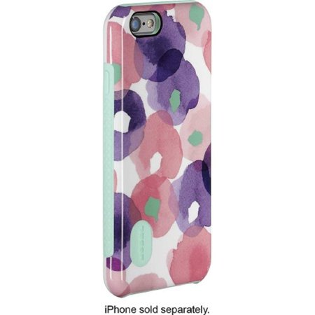 Glass Door Floral Case (New Modal - Dual-layer Case for Apple Iphone 6/6s - Pink/blue/white/green)