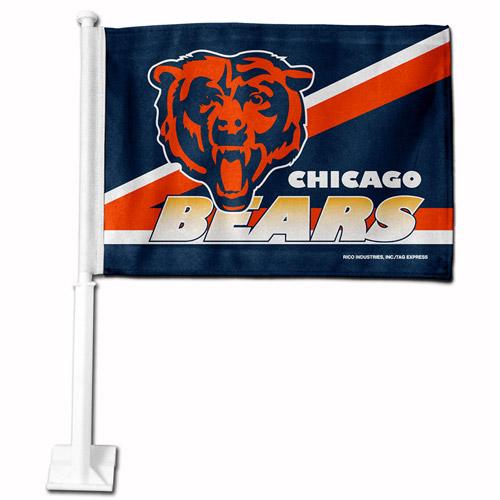 Rico Industries NFL Car Flag, Chicago Bears