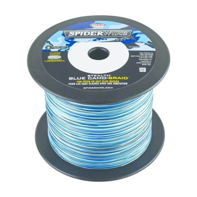 Spiderwire 1370455 0.70 lbs Stealth Braid Superline Line Spool