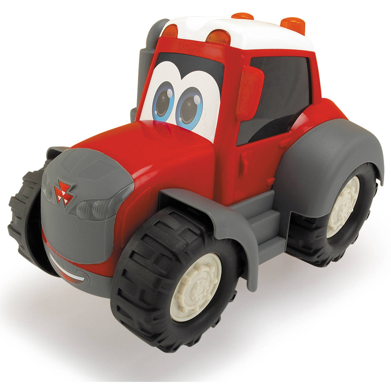 """Click here to buy Dickie Toys 10"""" Massey Ferguson Happy Tractor by Dickie Toys."""