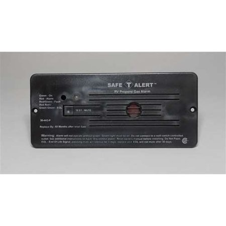 MTI Industries 12V 30 Series Safe-T-Alert Flush Mount RV Propane/LP Gas Alarm ()