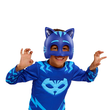 PJ Masks Deluxe Dress Up Top and Mask Set- Catboy - Sully Dress Up