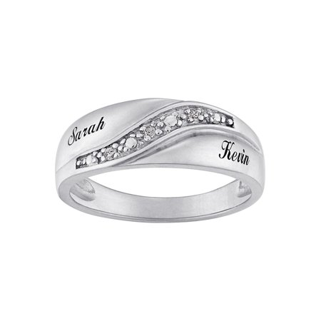 bands band diamodn men s two mens ring carats aramis diamond wedding tone