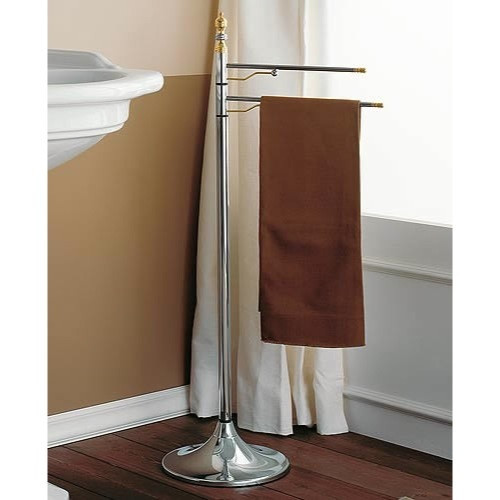 Toscanaluce by Nameeks Queen Double Free Standing Towel Stand